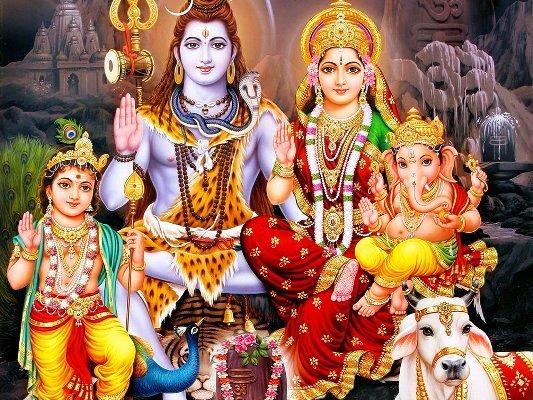 शिव परिवार- शिव-पार्वती कृपा से उत्तम संतान